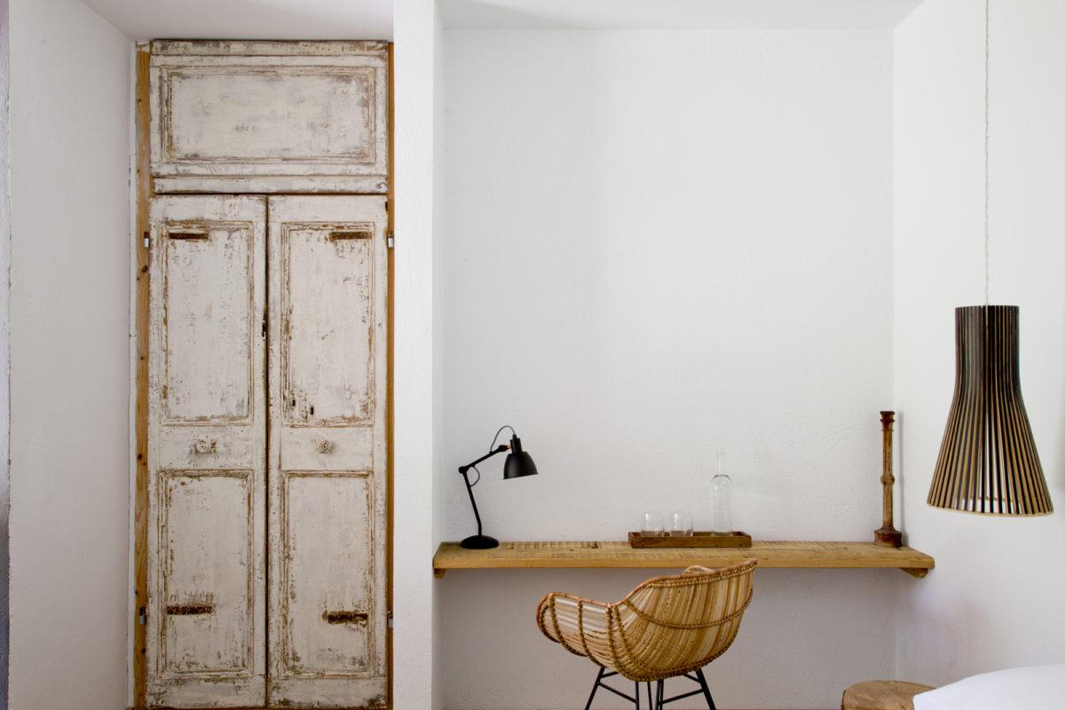 """Bureau, chambre """"Agua"""", hôtel Les Hamaques, Catalogne, Espagne"""