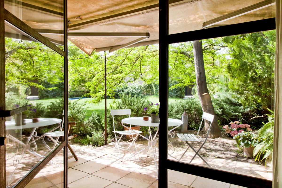 """Terrasse, chambre """"Agua"""", hôtel Les Hamaques, Catalogne, Espagne"""