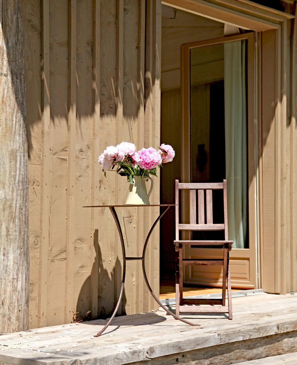Terrasse de la cabane, Alpilles.