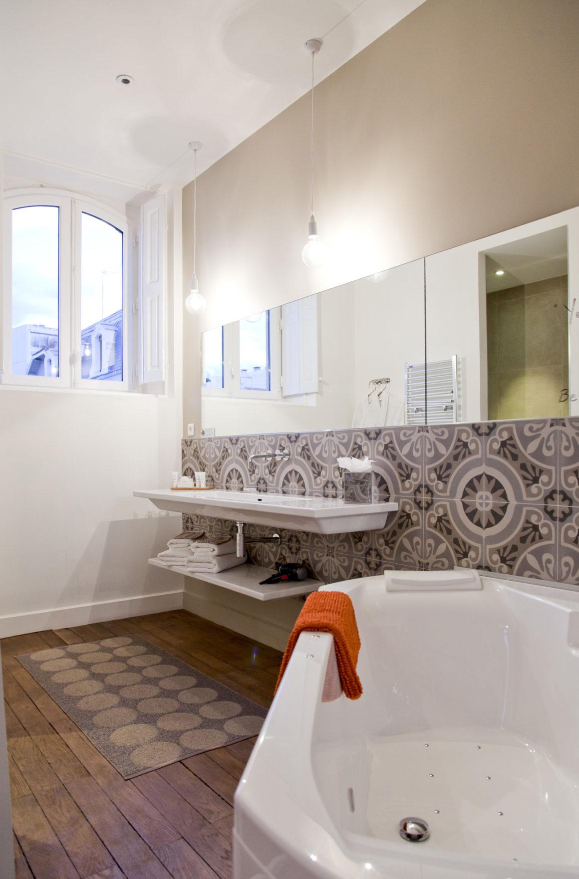 Salle de bains, Hôtel Particulier Béziers.