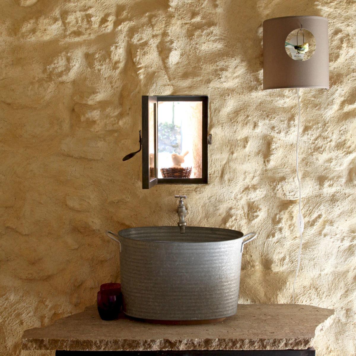 Point d'eau, Cabane Secret's en Provence.