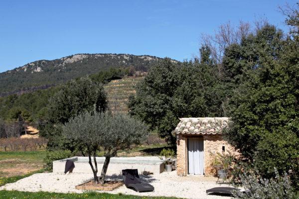 Cabane Secret's en Provence.