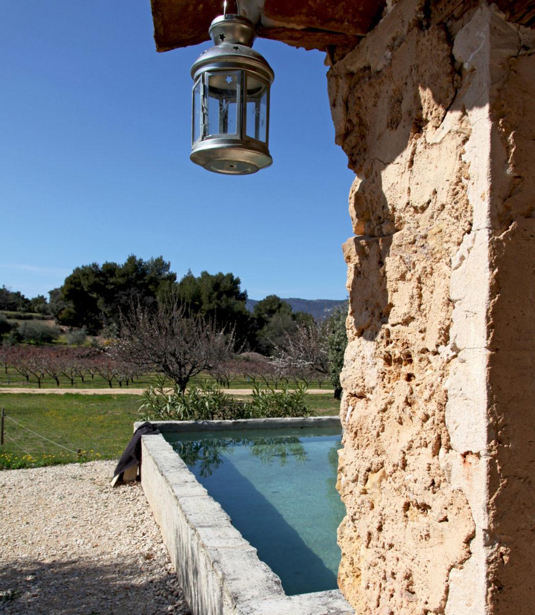 Bassin privé, Cabane Secret's en Provence