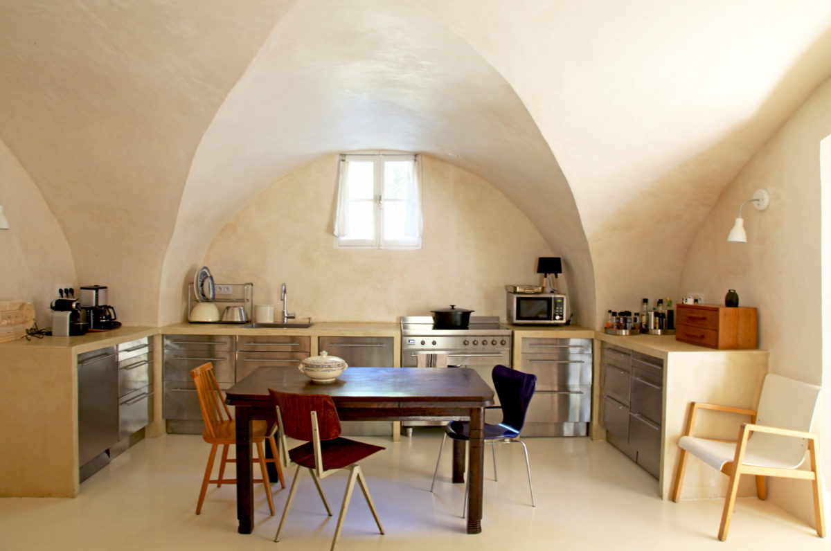 Cuisine, Maison Collongue, Luberon.