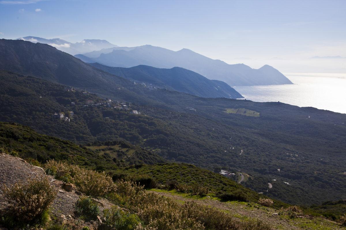 Région sauvage : Cap Corse. © Elodie Rothan