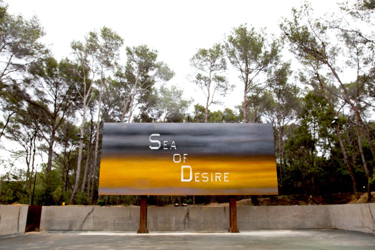 Ed Ruscha, Sea Of Desire, 2018 - Fondation Carmignac