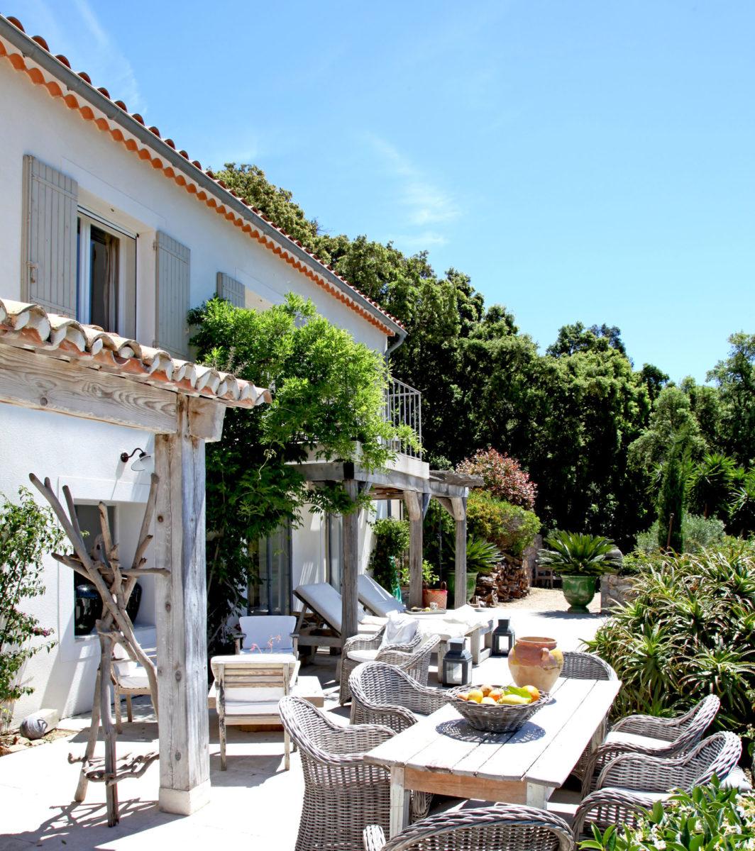 Terrasse, la Maison de Constance