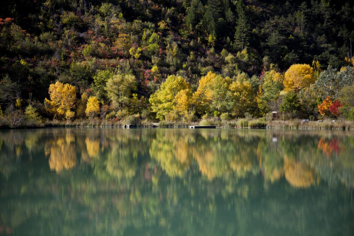 Région sauvage : Couleurs d'automne dans la Drôme. © Elodie Rothan