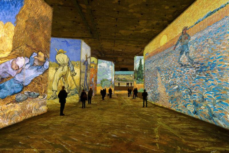 Simulation exposition Van Gogh, la nuit étoilée