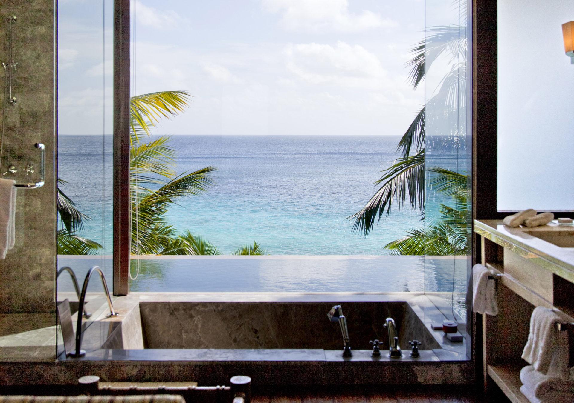 Four Seasons, île de Mahé, Seychelles. © Elodie Rothan