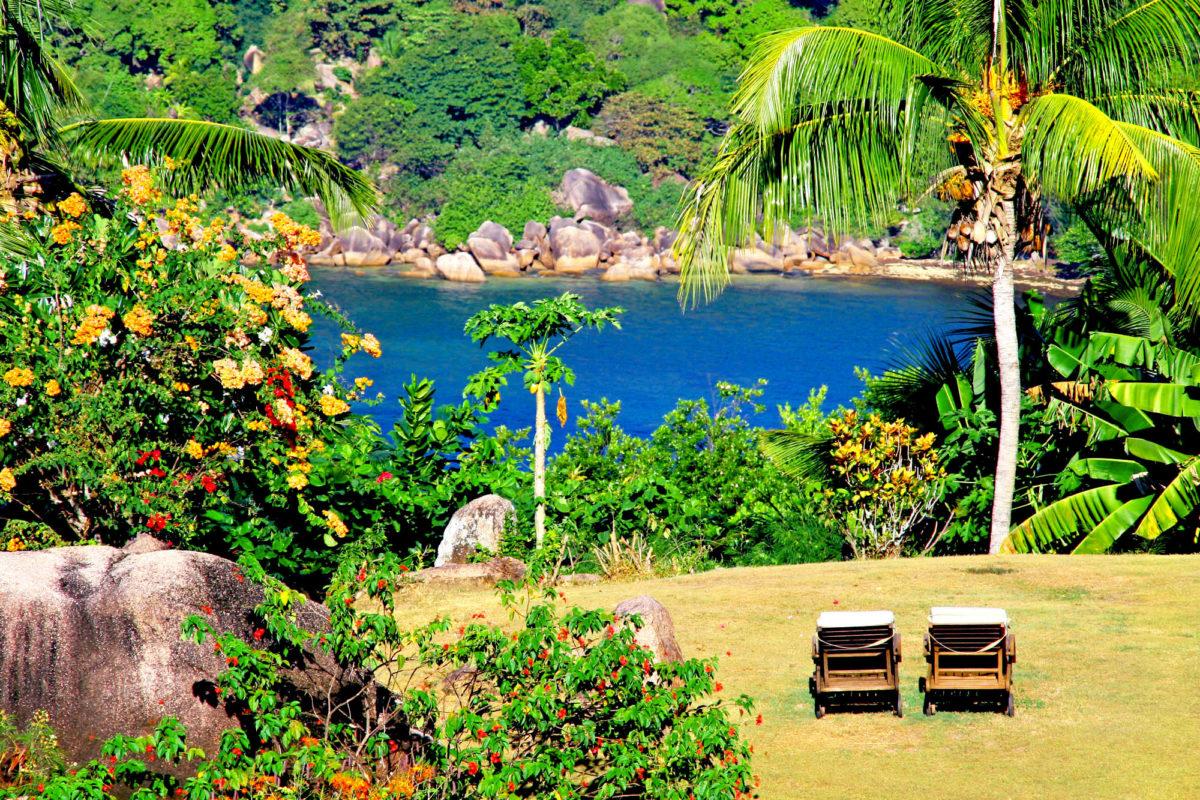 Château de Feuilles, île de Praslin, Seychelles. © Elodie Rothan