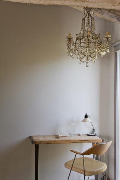 """Bureau, suite """"Bambu"""", hôtel Les Hamaques, Catalogne, Espagne."""