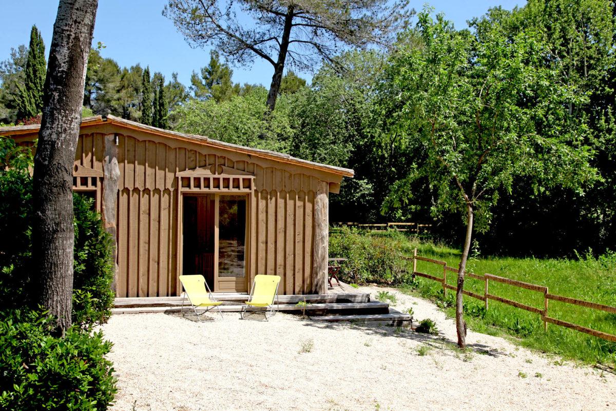 Cabane de la Lèque, dans les Alpilles