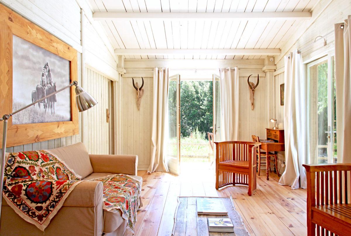 Salon, Cabane de la Lèque, dans les Alpilles