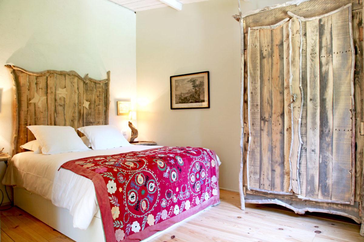Chambre, Cabane de la Lèque, dans les Alpilles.