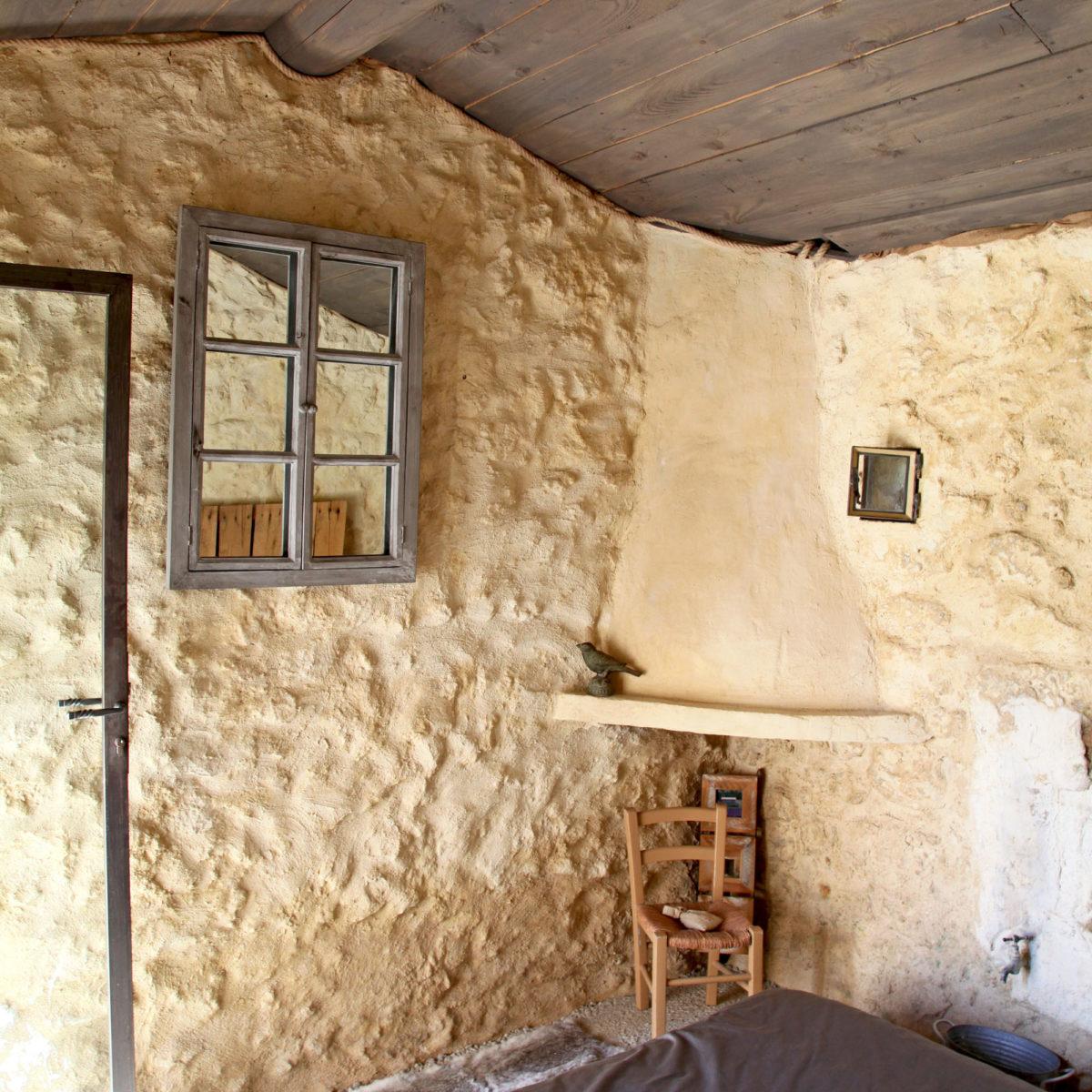 Chambre, Cabane Secret's en Provence.