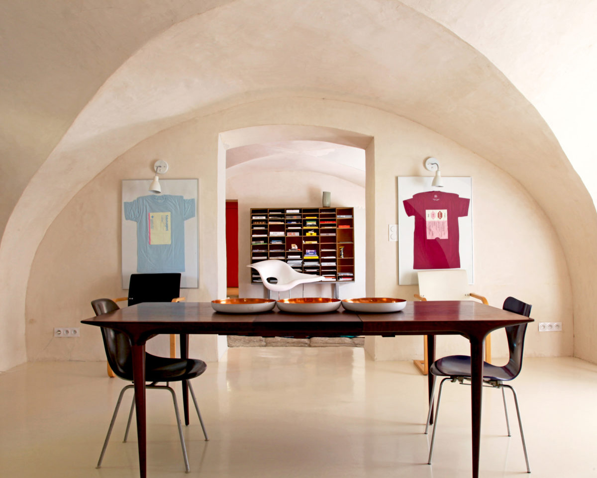 Salle à manger, maison d'hôtes Maison Collongue, dans le Luberon