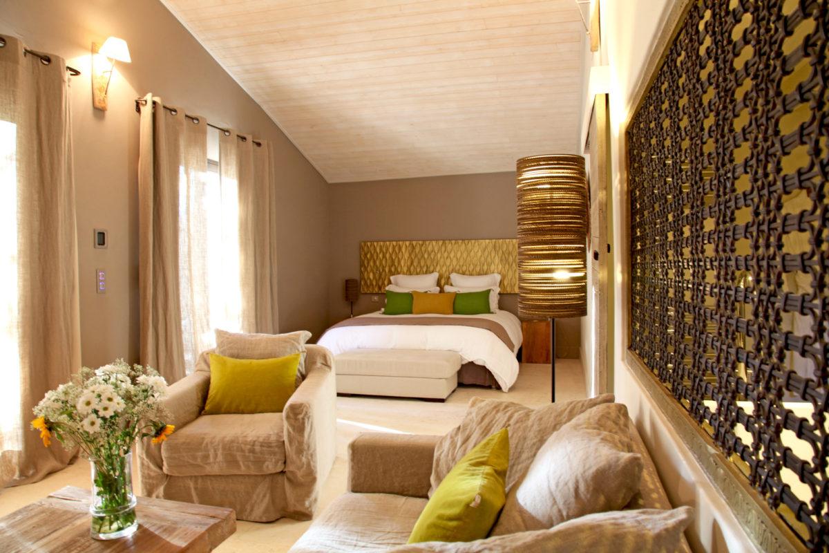 Chambre, maison d'hôtes Le Parfum des Collines, dans le Luberon.