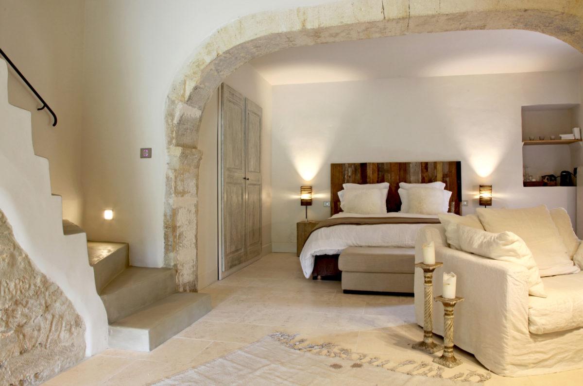 Chambre, maison d'hôtes Le Parfum des Collines, dans le Luberon
