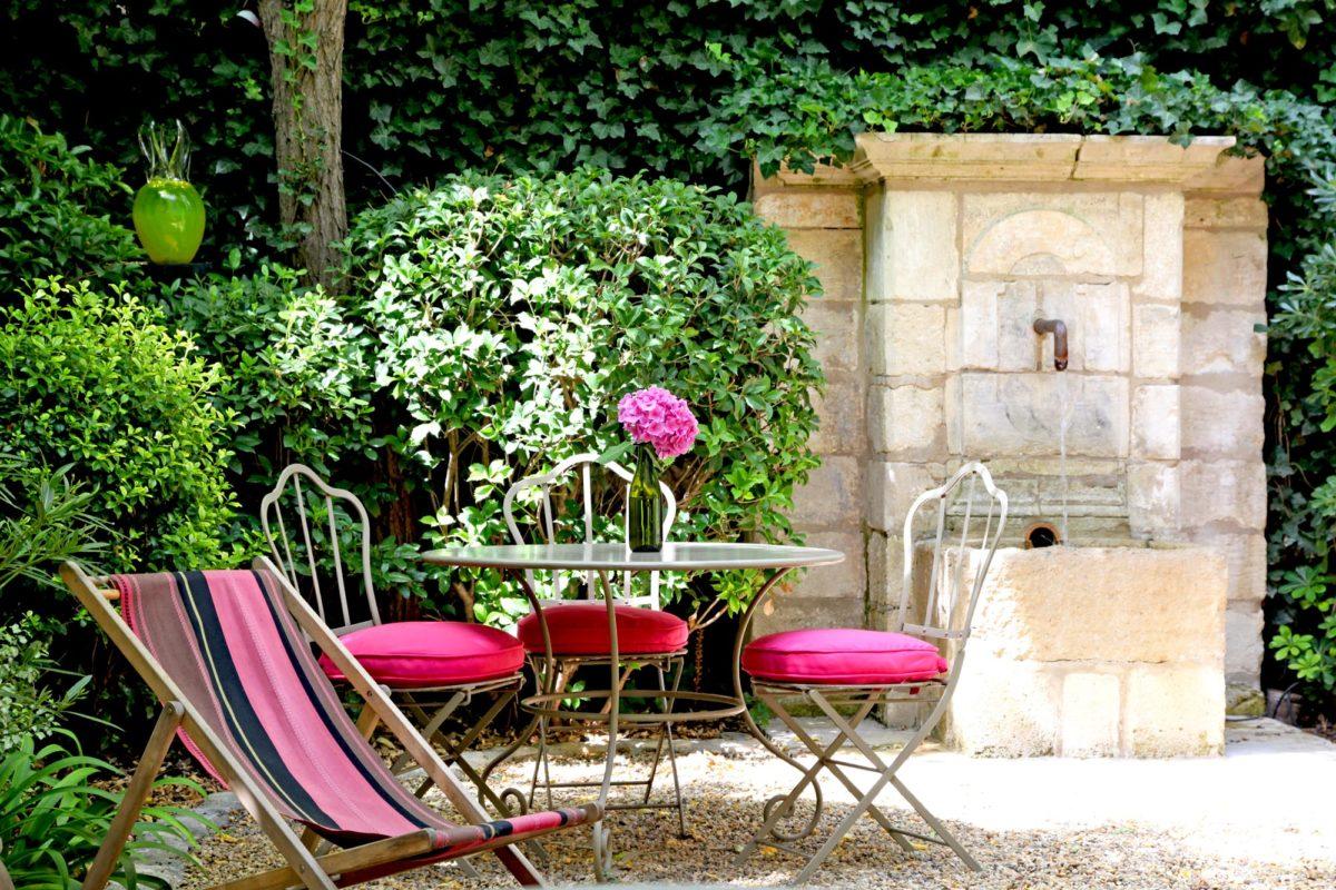 Jardin, la Maison du Village, Saint-Rémy-de-Provence