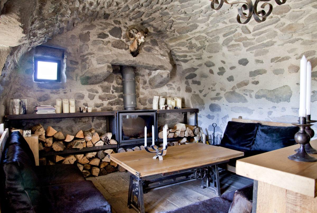 Séjour, Buron de la Chambe, Cantal, Auvergne.