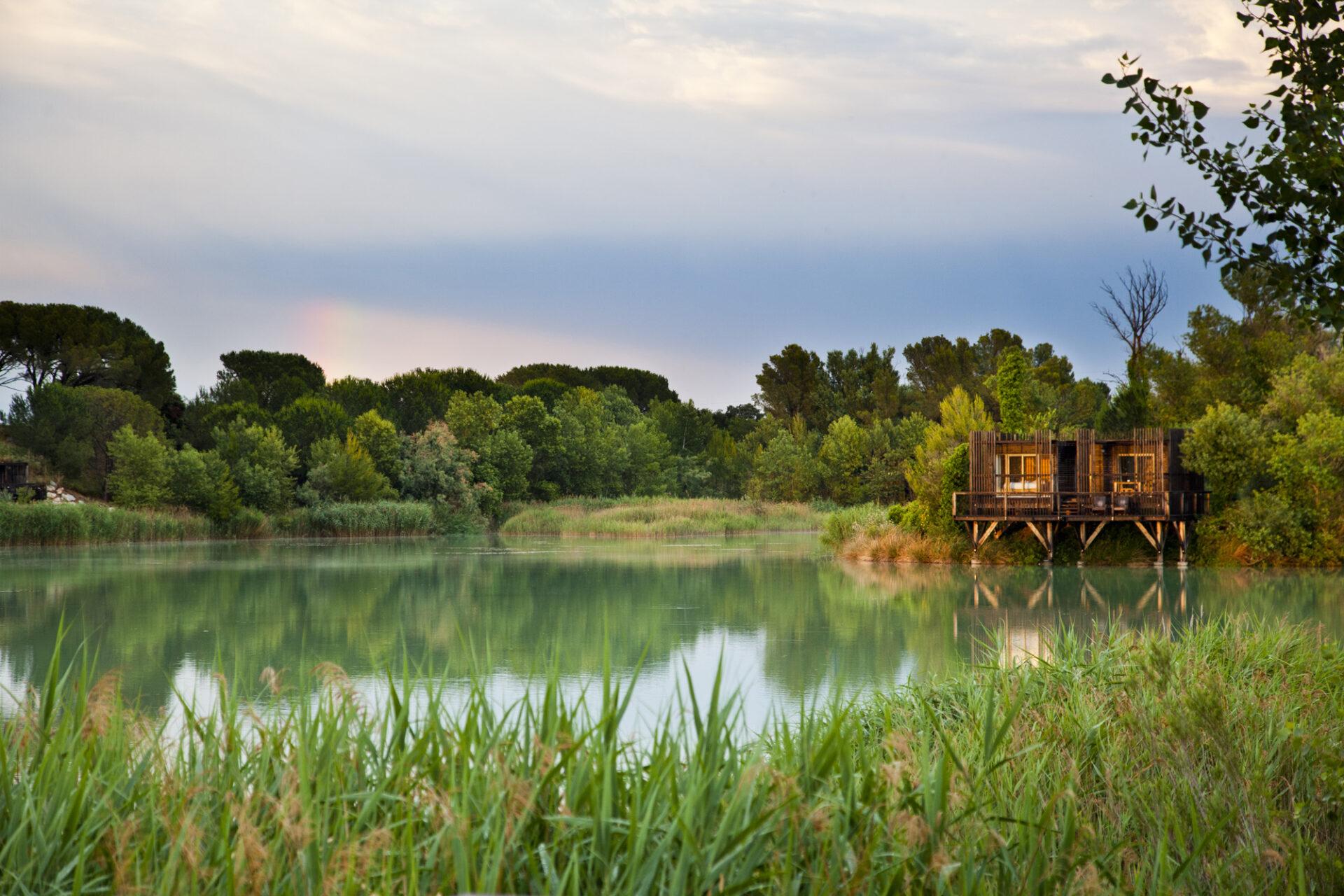 Cabane Provençale, Coucoo Les Grands Cépages, Vaucluse, Provence. © Elodie Rothan