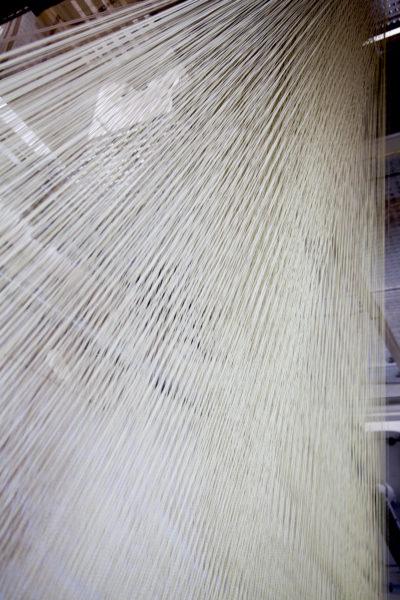 Tissage à la Manufacture Brun de Vian Tiran