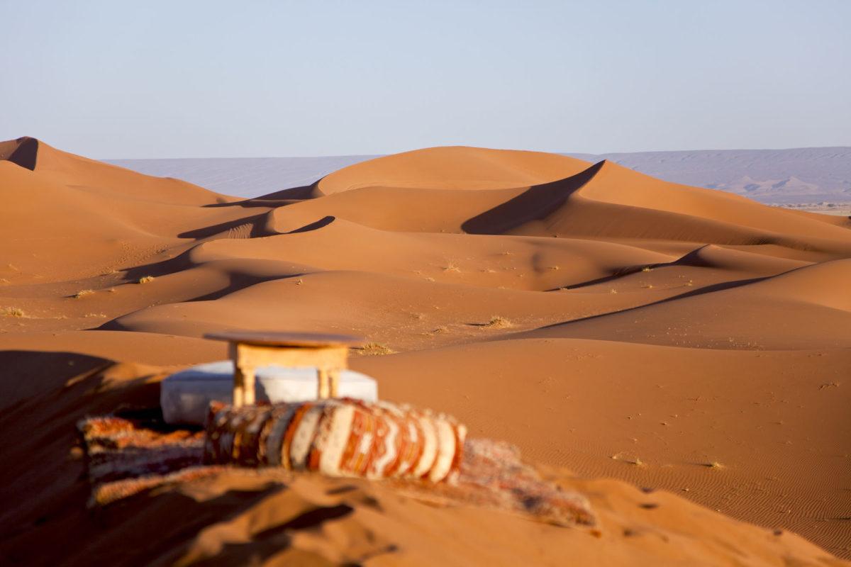 Le spot en haut des dunes. © Elodie Rothan
