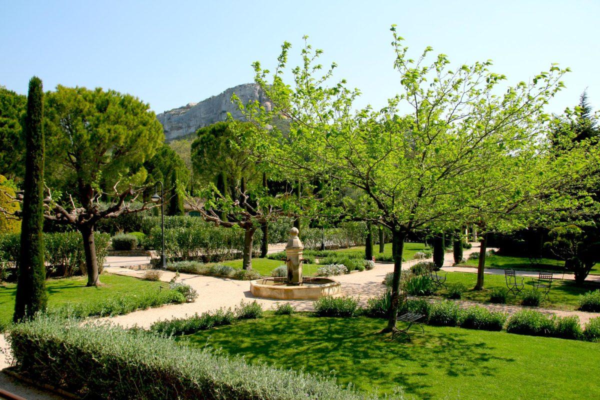 Jardins, Baumanière
