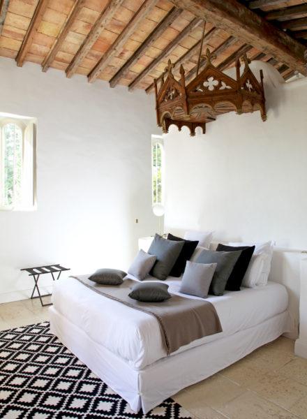 """Suite """"la Chapelle"""" de l'hôtel Le Hameau des Baux, Alpilles, Provence"""