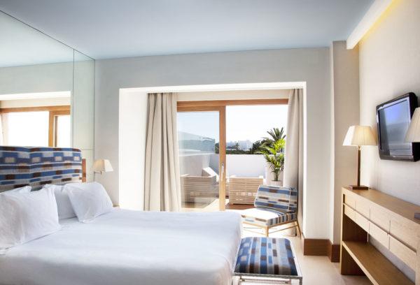 Chambre. © Gecko Hôtel & Beach Club