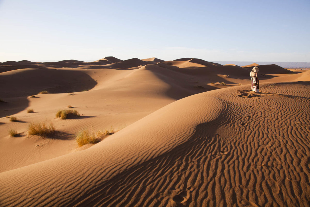 Golf dans les dunes. © Elodie Rothan
